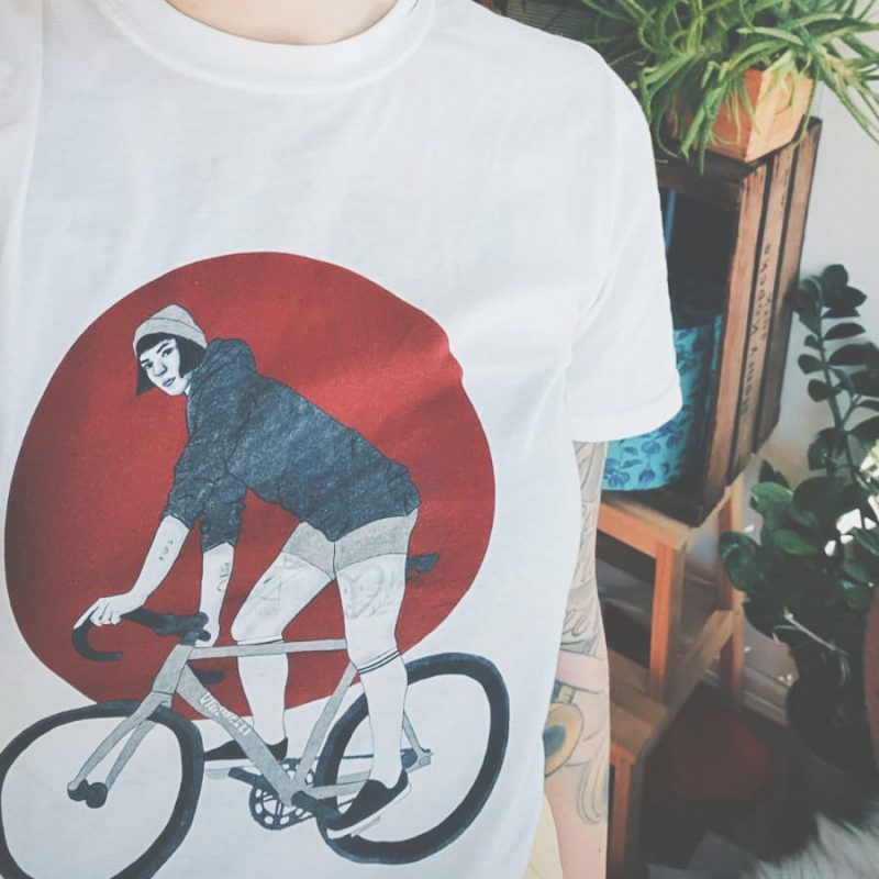 cyclepunks trackstand girl